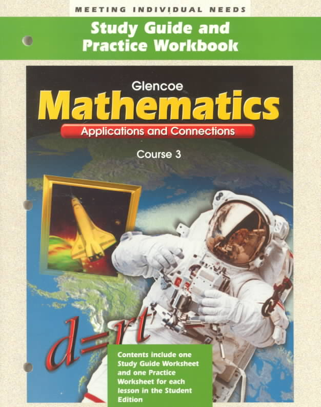 McGraw-Hill/Glencoe Mathematics: Applications & Connections-Course 3 by McGraw-Hill/Glencoe [Paperback] at Sears.com